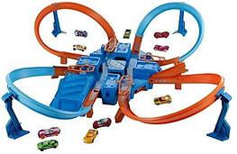 Гоночний Трек Хот Вілс небезпечний перехрестя / Hot Wheels Criss Cross Crash Track Set DTN42