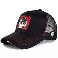Жіноча літнє Бретонська капелюх Канотьє City-a Класика Світло-Коричнева з чорною стрічкою