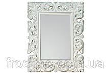 Зеркало в белой оправе 70X90 см PU-049 PM OUTLET
