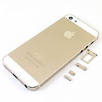 Корпус для Apple iPhone 5, Original, Gold /панель/крышка/накладка /айфон