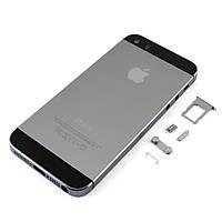 Корпус для Apple iPhone 5S, Original, Серый /панель/крышка/накладка /айфон