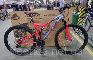 Двопідвісний велосипед Azimut Scorpion 27.5 G-FR/D (19)