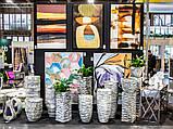 Садовий горщик імітація кам'яної структури 76 x 35 см 2028/3, фото 2