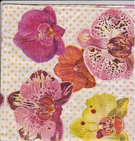 Салфетки для декупажа Орхидеи 2