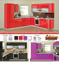 Кухня глянцева серії HIGH GLOSS модульна під замовлення
