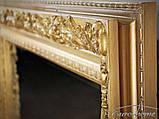 Зеркало 2313 90X150CM античное золото, фото 3