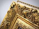 Зеркало 2313 90X150CM античное золото, фото 4