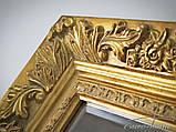 Зеркало 2313 90X150CM античное золото, фото 5