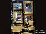 Зеркало 2313 90X150CM античное золото, фото 9