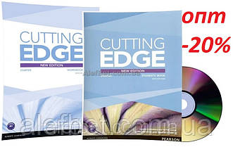 Английский язык / Cutting Edge / Student's+Workbook+DVD. Учебник+Тетрадь, комплект, Starter / Pearson