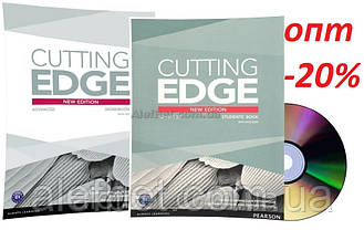 Английский язык / Cutting Edge / Student's+Workbook+DVD. Учебник+Тетрадь, комплект, Advanced / Pearson