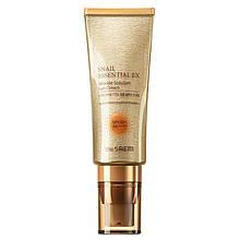 Равликовий сонцезахисний крем The Saem Snail Essential Ex Wrinkle Solution Sun Cream SPF 50+ PA++++ 40 мл