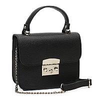 Жіноча шкіряна сумка Ricco Grande 1l623-black