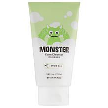 Освежающая пенка для умывания лица Etude House Monster Foam Cleanser 250 мл (8809587373406)