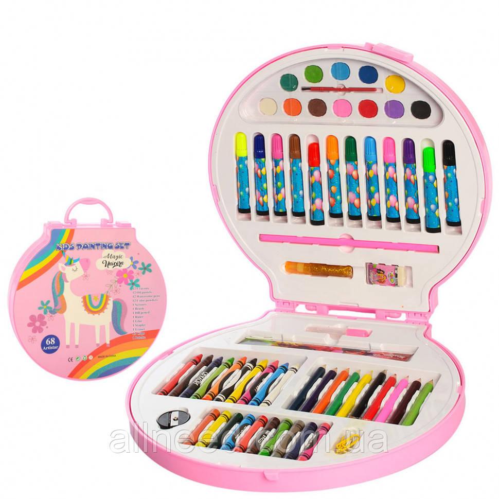 Дитячий набір для творчості MK 2111 у валізі (Єдиноріг)