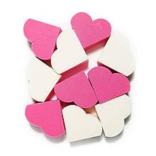 Комплект спонжей для макияжа Etude House My Beauty Tool Heart Shape Puff 20 шт