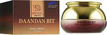 Крем-ліфтинг для обличчя зі стовбуровими клітинами і муцином равлики Daandan Bit Snail Cream Premium 50 г