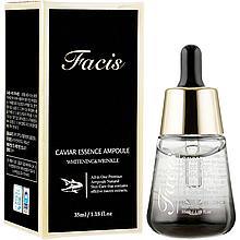 Антивозрастная ампульная сыворотка для лица с экстрактом икры Facis Caviar Essence Ampoule 35 мл