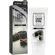Маска-пленка для глубокого очищения кожи лица Jigott Pure Clean Peel Off Pack Charcoal 180 мл