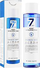 Увлажняющий тонер для лица с гиалуроновой кислотой May Island 7 Days Secret 4D Hyaluronic Toner 155 мл