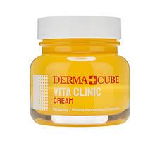 Освітлюючий крем для обличчя з вітамінами FarmStay Derma Cube Vita Clinic Cream 60 мл