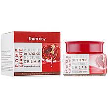 Увлажняющий крем для лица с экстрактом граната Farmstay Pomegranate Visible Difference Moisture Cream 100 мл
