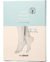 Пилинг-носочки для ног The Saem Dear My Foot Power Peeling 50 мл (8806164154854)