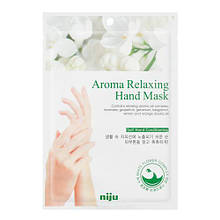Маска для рук з розслаблюючим ефектом Konad Niju Aroma Relaxing Hand Mask Pack 16 мл (8809109831896)