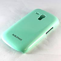 Чехол-накладка для Samsung Galaxy S3 mini, i8190, пластиковый, Buble Pack, Бирюзовый /case/кейс /самсунг галакси