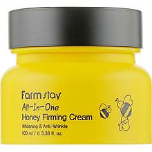 Медовый крем для укрепления кожи лица Farmstay All In One Honey Firming Cream 100 мл