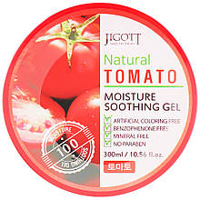 Универсальный гель для лица и тела с экстрактом томата Jigott Natural Tomato Moisture Soothing Gel 300 мл