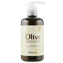 Увлажняющий гель для душа с экстрактом оливы Farmstay Olive Moisture Balancing Body Cleanser 250 мл