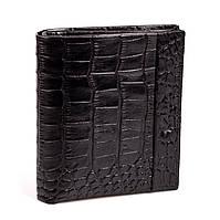 Кошелек с зажимом Karya 0940-53 кожаный черный