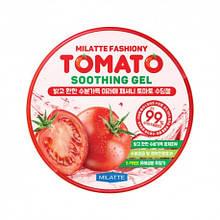 Осветляющий гель для лица и тела с экcтрактом томата Milatte Fashiony Tomato Soothing Gel 300 мл