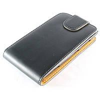 Чехол-книжка для Nokia Lumia 520, Lumia 525, Chic Case, Черный /flip case/флип кейс /нокиа