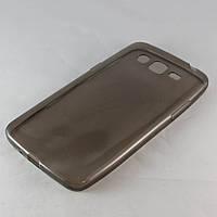 Чехол-накладка для Samsung Galaxy Grand 2, G7102, ультратонкий силиконовый, черный /case/кейс /самсунг галакси