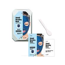 Моделирующая маска для лица с сапфировой пудрой Konad Iloje Jewel Modeling Mask Pack Aqua Sapphire 50г+5г