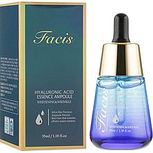 Антивозрастная ампульная сыворотка для лица с гиалуроновой кислотой Facis Hyaluronic Acid Essence Ampoule 35мл