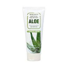 Маска-пленка для лица с экстрактом алоэ вера Jigott Aloe Pure Clean Peel Off Pack 180 мл