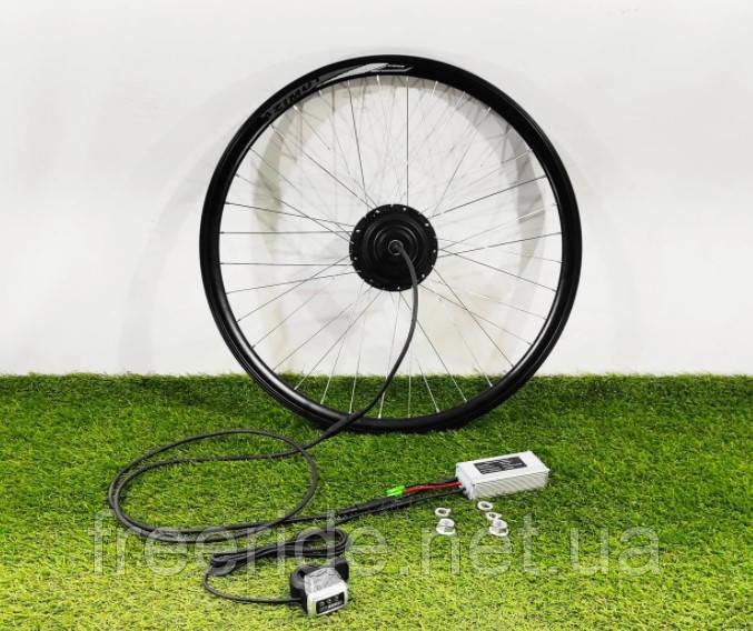 Электронабор 36V/350W передний для велосипеда редукторный заспицованный 26-29 дюймов, батарея Li-ion 18A