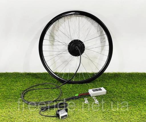 Электронабор 36V/350W передний для велосипеда редукторный заспицованный 26-29 дюймов, батарея Li-ion 18A, фото 2