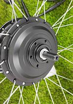 Электронабор 36V/350W передний для велосипеда редукторный заспицованный 26-29 дюймов, батарея Li-ion 18A, фото 3