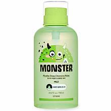 Глубоко очищающая мицелярная вода Etude House Monster Micellar Deep Cleansing Water 700 мл
