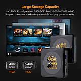 Смарт ТВ-приставка HK1 Rbox 4gb/32gb Ultra HD SmartTV Андроїд 10 Android TV box, фото 7