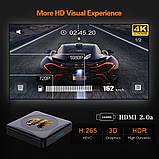Смарт ТВ-приставка HK1 Rbox 4gb/32gb Ultra HD SmartTV Андроїд 10 Android TV box, фото 8