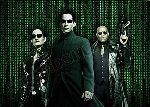 Картина 60х40 см Матриця The Matrix Команда