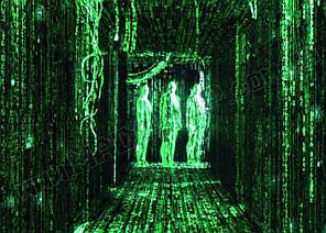 Картина 60х40 см Матриця The Matrix Коридор в матриці DS555