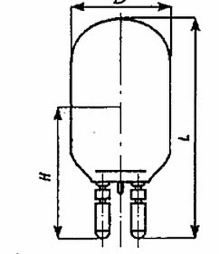 Лампа накаливания кинопрожекторная КПЖ 110-2000 G38