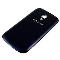 Задняя крышка для Samsung S7562 Galaxy S Duos, Original, Черная /панель/корпус/накладка /самсунг