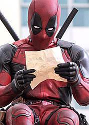 Картина GeekLand Deadpool Дэдпул постер до фільму 40х60см DP.09.111